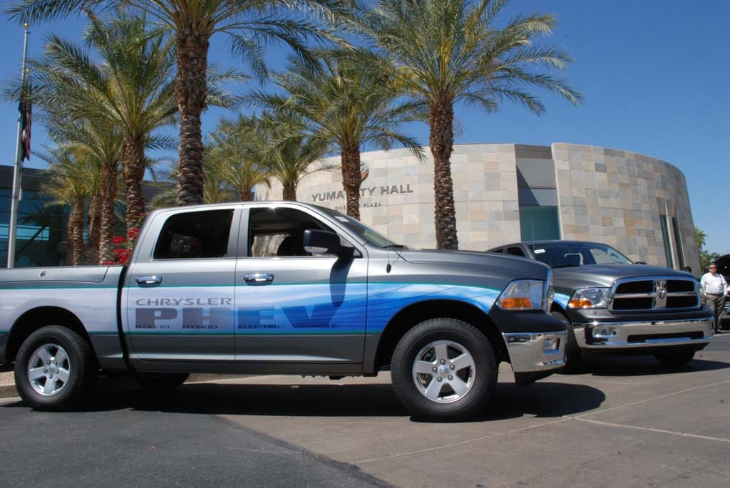 Arizona Cops Get Ram Plug-In Pickups