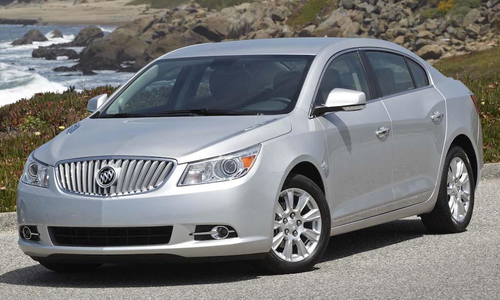 First Drive: 2012 Buick LaCrosse eAssist