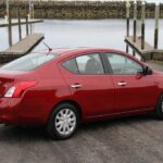 Fuel economy is up, in part, because the 2012 Nissan Versa sedan is 150 pounds lighter.
