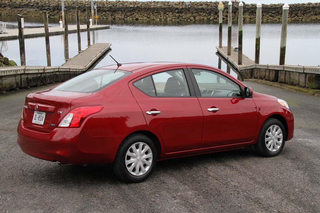 Fuel Economy Is Up, In Part, Because The 2012 Nissan Versa Sedan Is 150