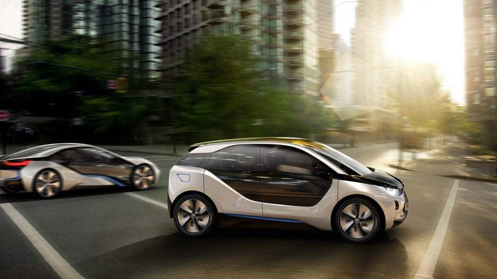 First Look: BMW i3 and i8 Electric Concept Cars BMW i3 and i8 ...