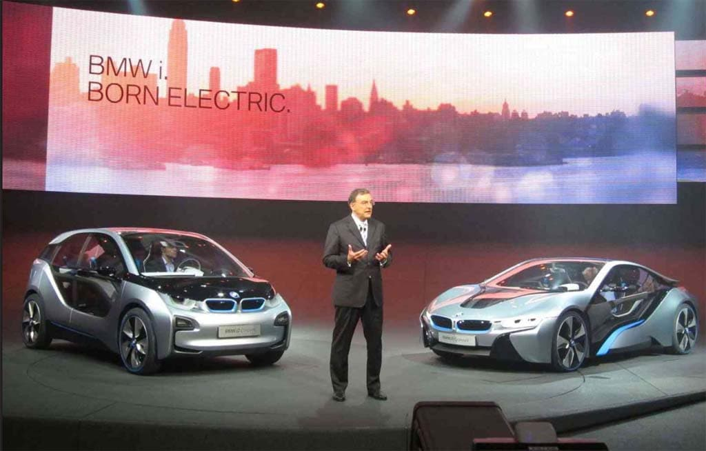 First Look: BMW i3 and i8 Electric Concept Cars