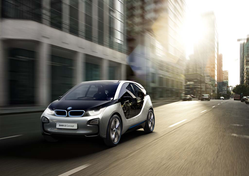 BMW Gets Ready For The Formal Unveiling Of The Production I3 Next Week.