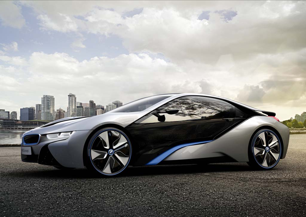 The BMW I8 Is Based On The Popular 2009 Concept Known As The Vision  Efficient Dynamics