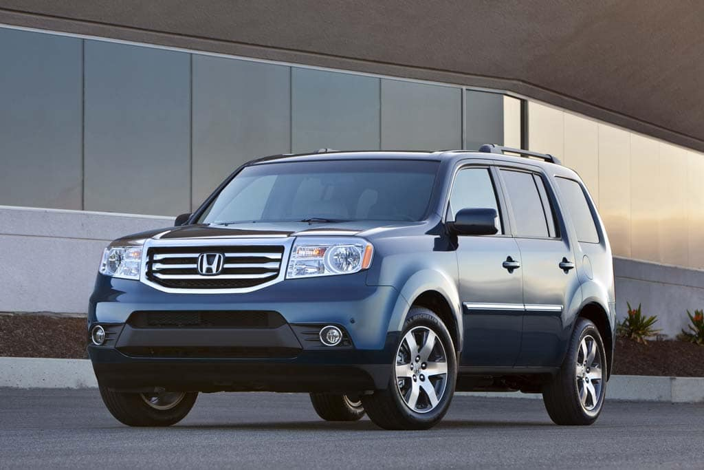 First Look: 2012 Honda Pilot