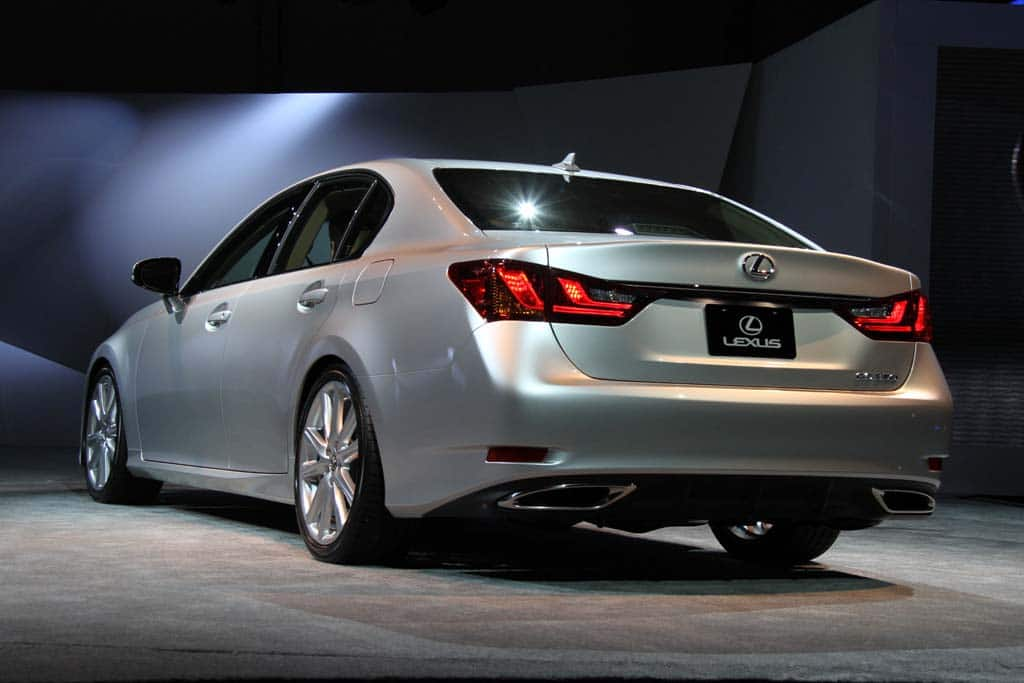 First Look 2013 Lexus GS