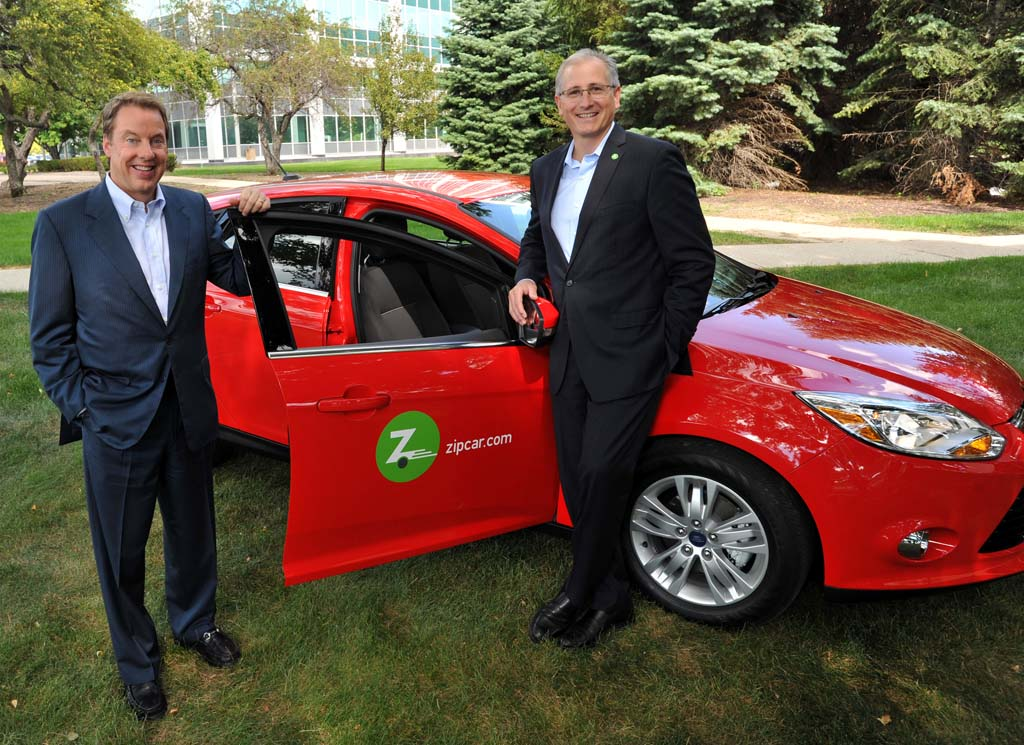 Ford Teaming up with Zipcar