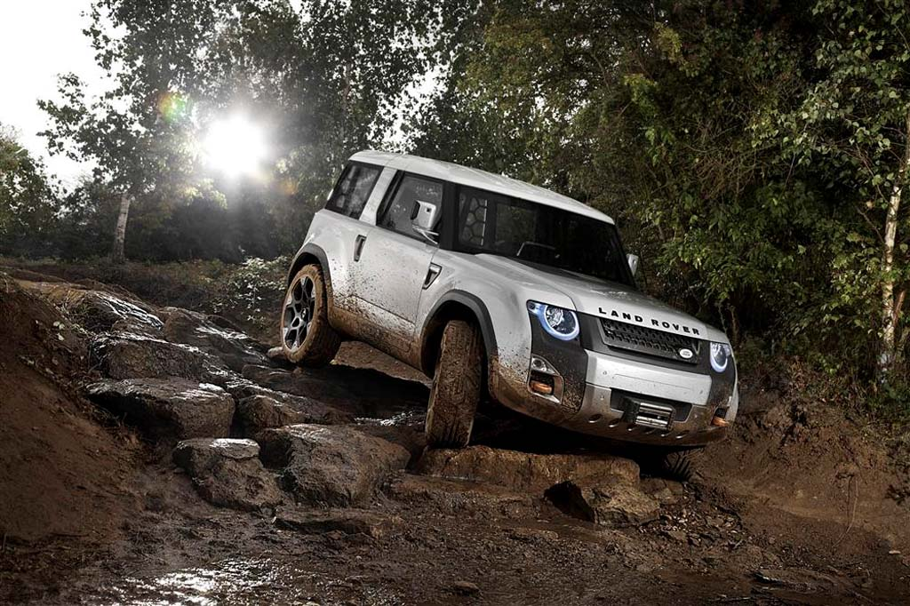 First Look: Land Rover Defender Concept