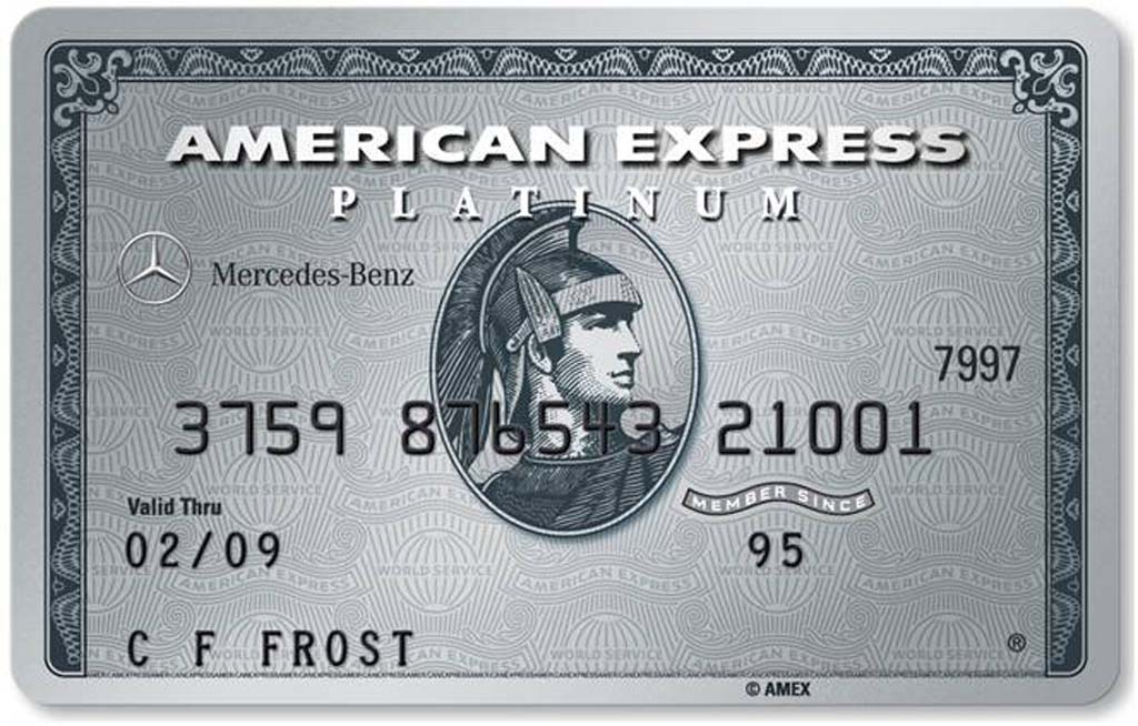 Mercedes does deal with american express for American express mercedes benz credit card