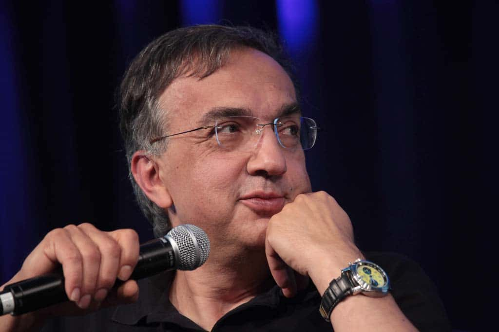 Marchionne Downplays Fiat Chrysler's Mounting Debt