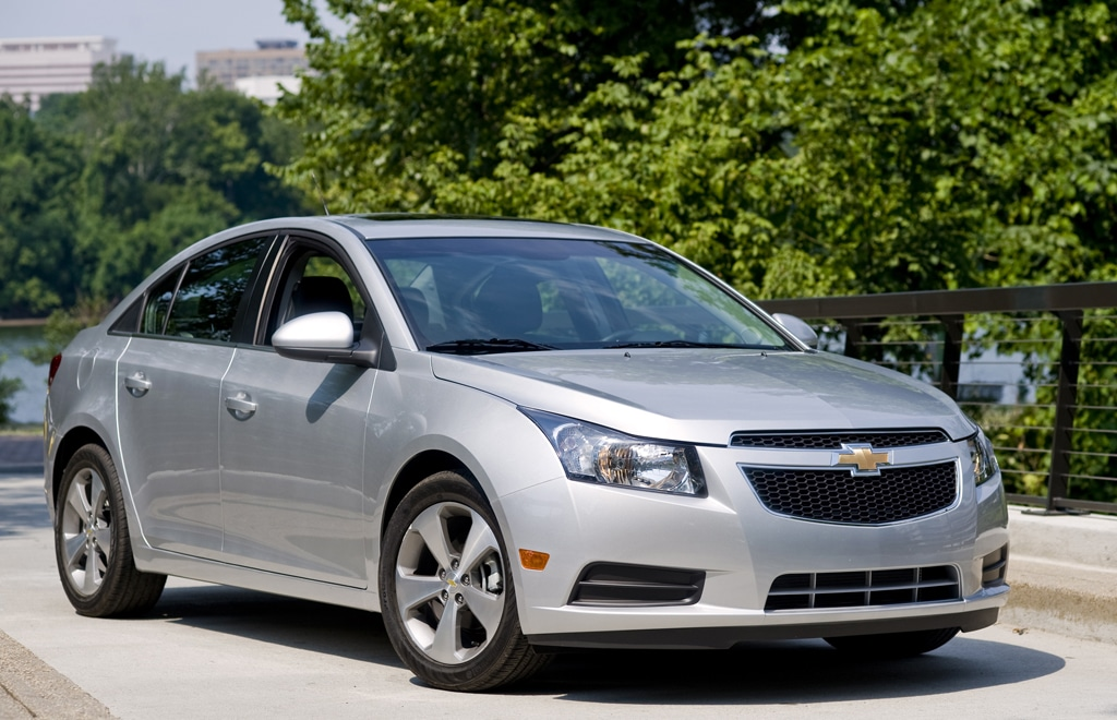 Chevy Finally Has Competitive Compact With Cruze