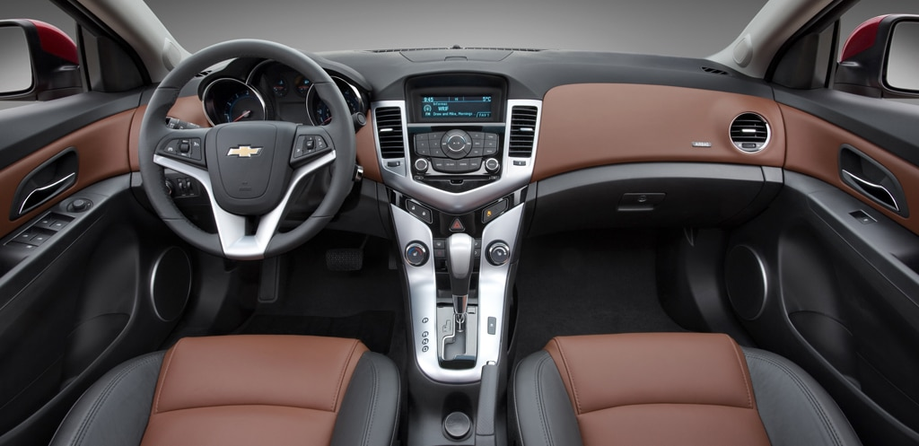 Chevy Finally Has Competitive Compact With Cruze ...