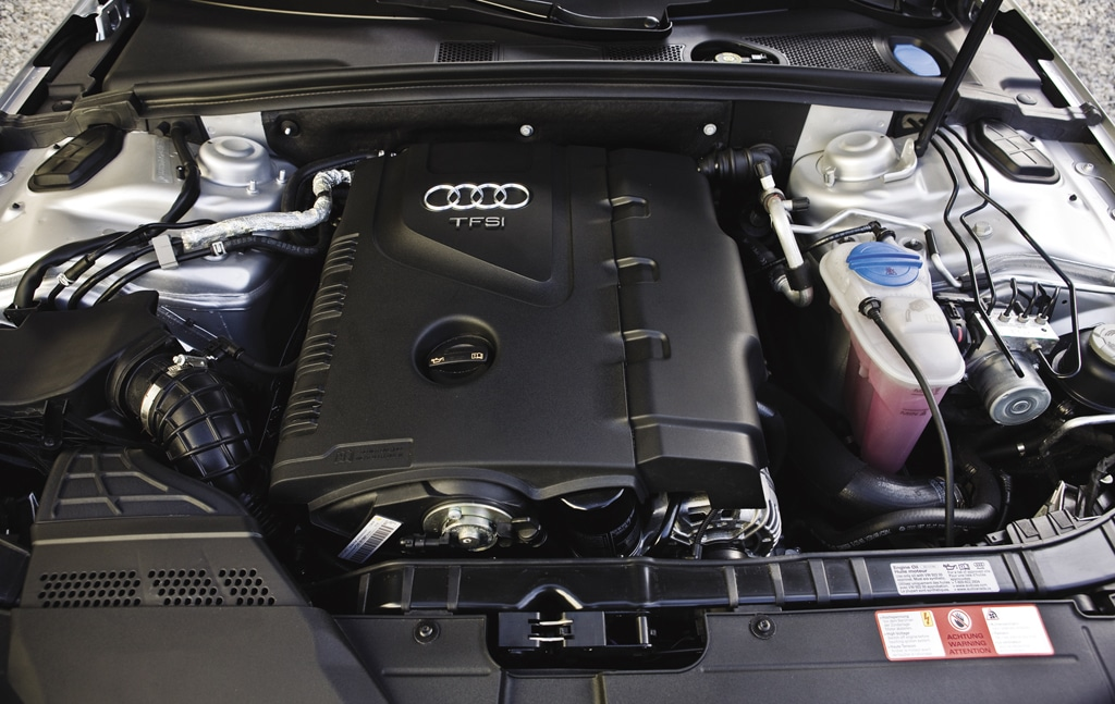Audi A4 A Sports Sedan with All weather Capability