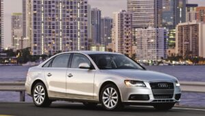 Audi A4 Quattro A Sporting Sedan With All Weather