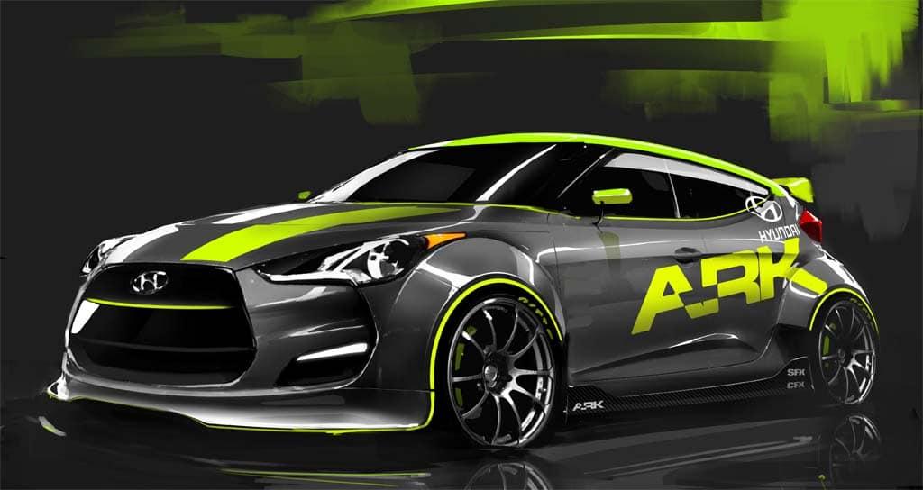 Hyundai ARK Performance Veloster Coming to SEMA