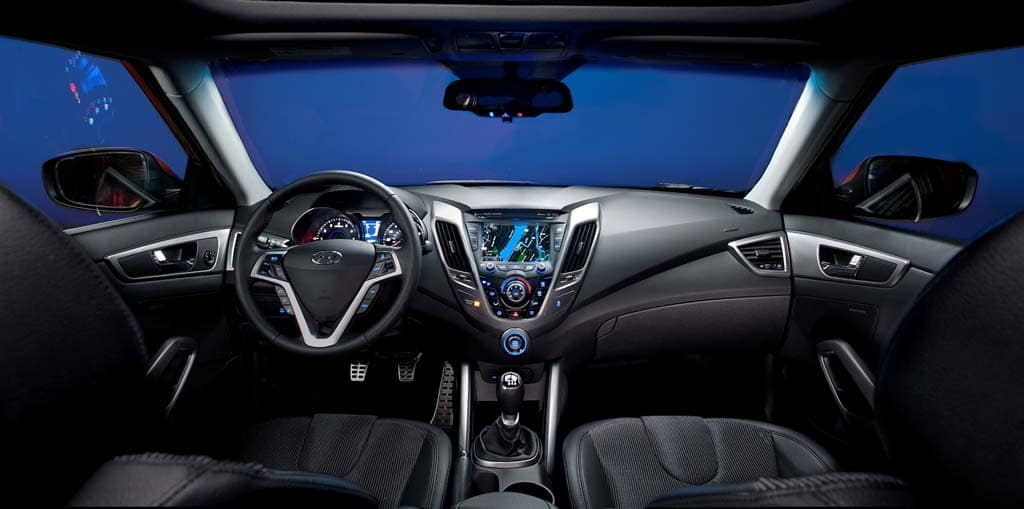 Charming A Look At The Hyundai Velosteru0027s Upscale Interior.