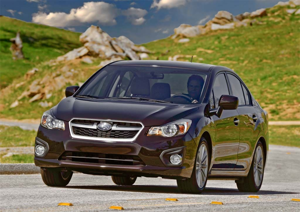 First Drive: 2012 Subaru Impreza