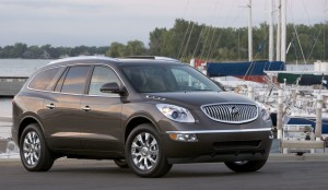 The Enclave's curves are different than any other SUV on the market.
