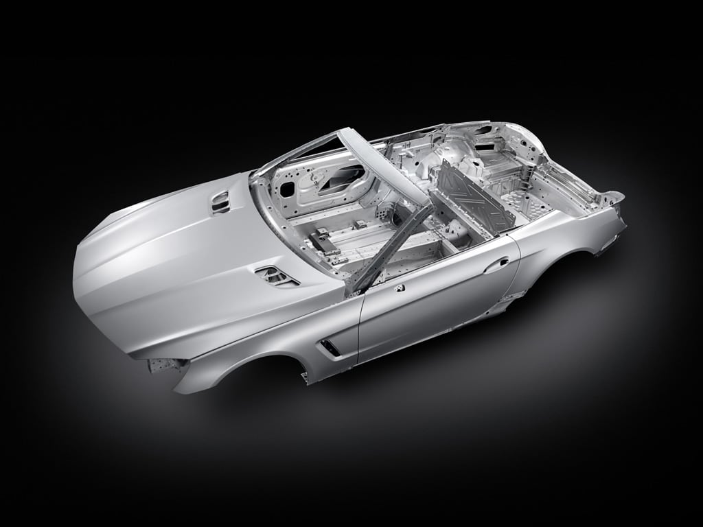 New Aluminum Body Will Slash Weight Of 2013 Mercedes Benz