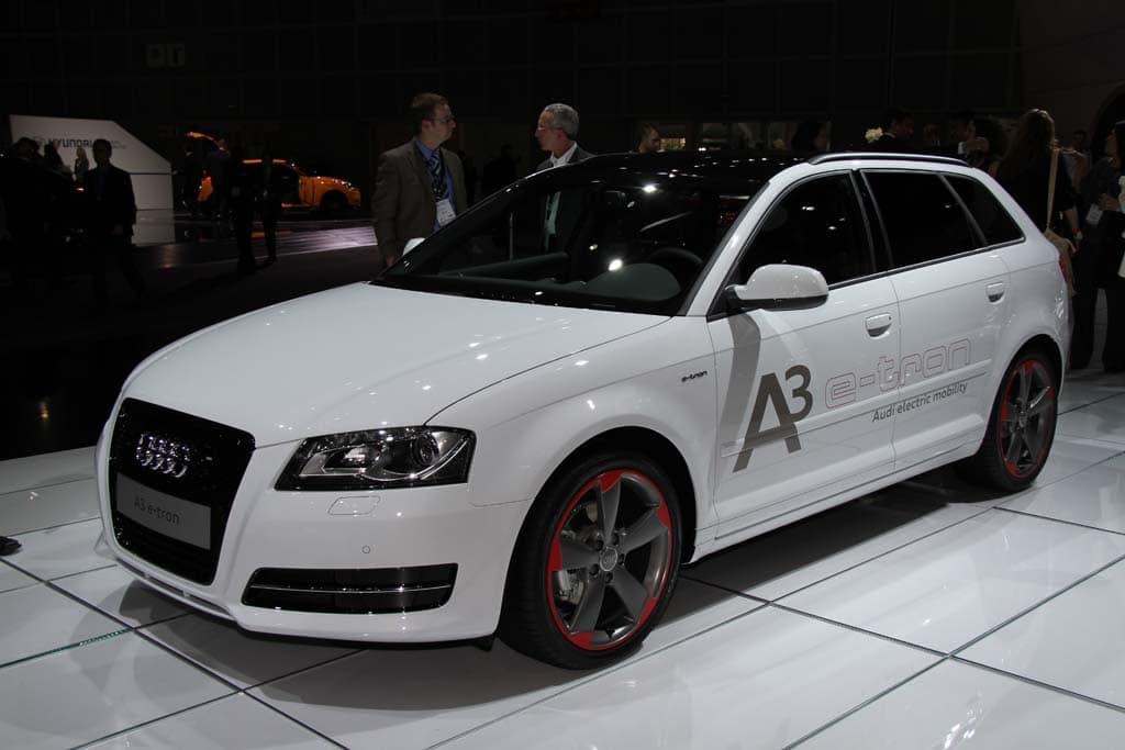 audi drops a battery car surprise with a3 etron. Black Bedroom Furniture Sets. Home Design Ideas