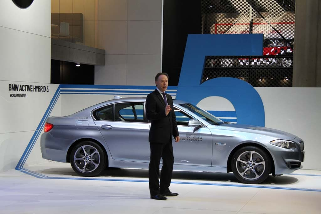First Look: BMW Active 5 Hybrid