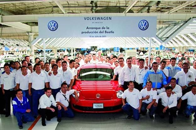 Mexico Auto Output to Jump 38% in 3 Years