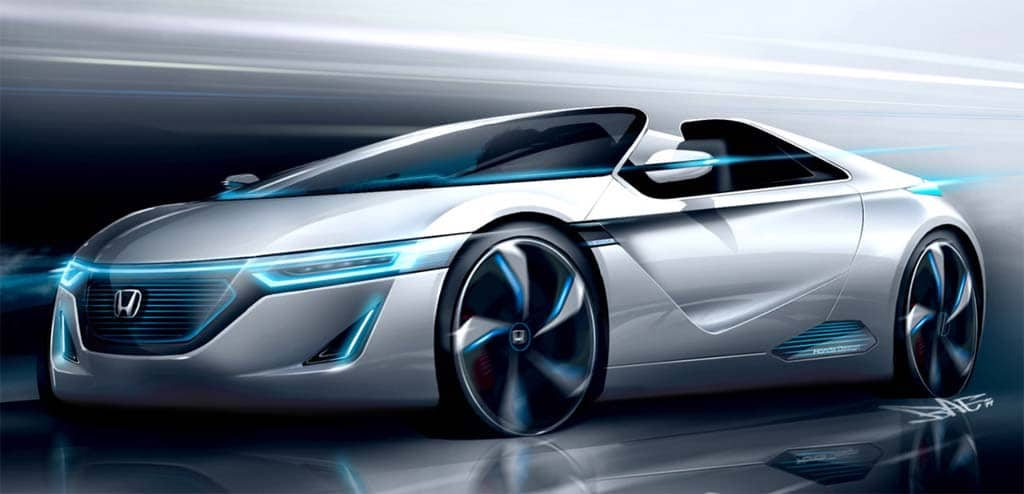 Honda To Reveal Battery Sports Car In Tokyo Thedetroitbureau Com