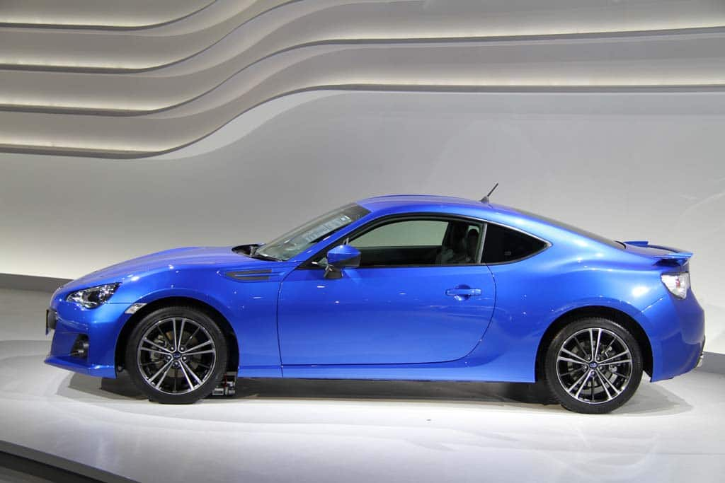 it s official this time subaru reveals the production brz. Black Bedroom Furniture Sets. Home Design Ideas
