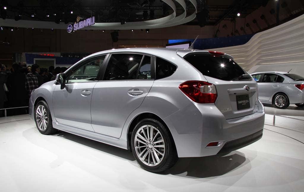 Subaru Unveils Quot Ultimate Quot Wrx Sti Along With New Impreza