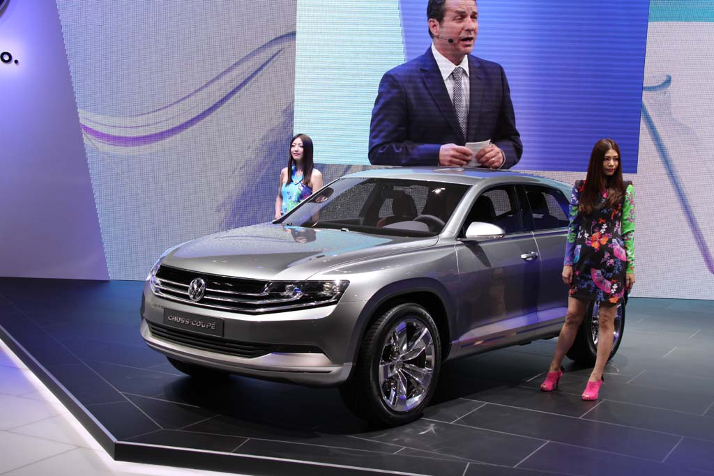 VW Teases with Cross Coupe Concept