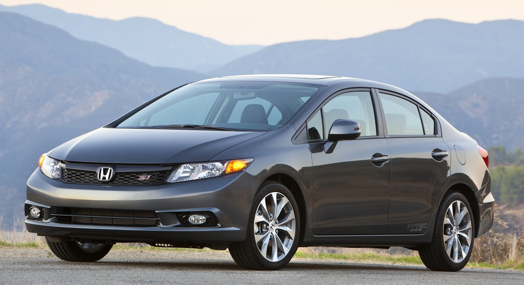 First Drive: 2012 Honda Civic Si
