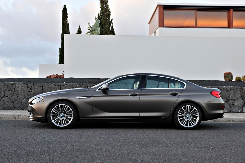 first look bmw s 4 door 6 series gran coupe. Black Bedroom Furniture Sets. Home Design Ideas