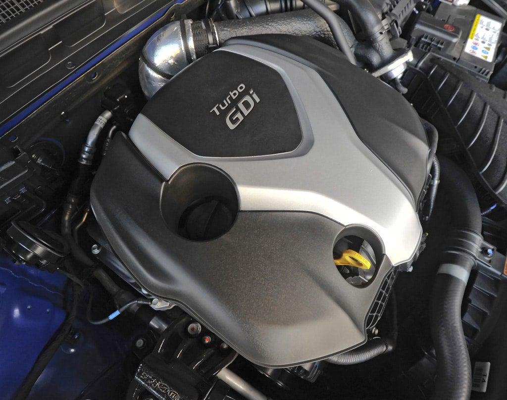 The Optima Turbo S Engine