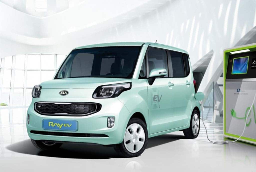 Kia Unveils Korea's First Battery Car