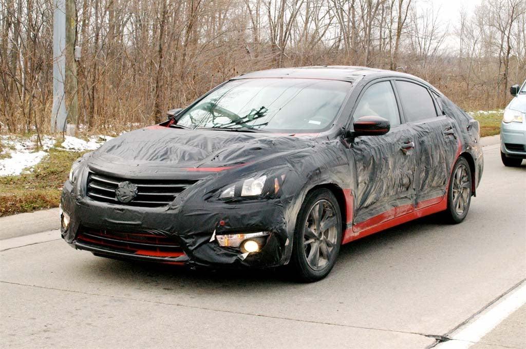 Spy Shots: 2013 Nissan Altima