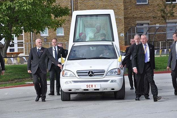 Pontiff Wants a Green Popemobile