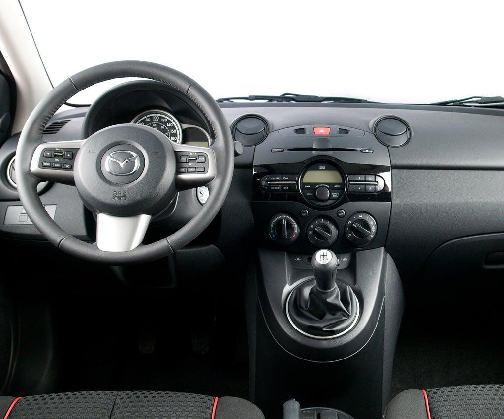 The 2u0027s Interior Has Standard Mazda ...