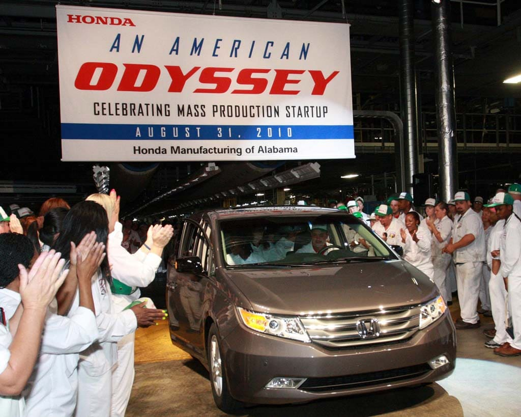 70% of Japanese Cars Sold in U.S. Now Built in North American Plants ...