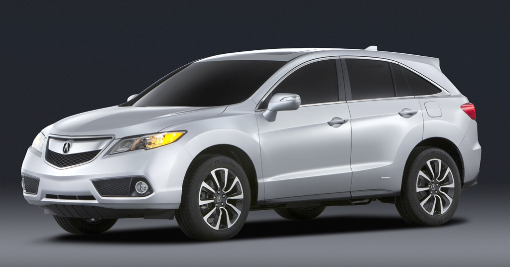 acura swaps rdx s turbo four for v 6 in revamped 2013 model. Black Bedroom Furniture Sets. Home Design Ideas