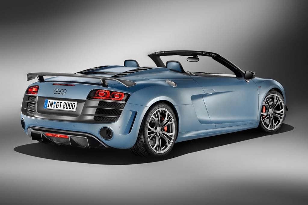Audi R GT Spyder Breaks The Barrier TheDetroitBureaucom - Barrier audi