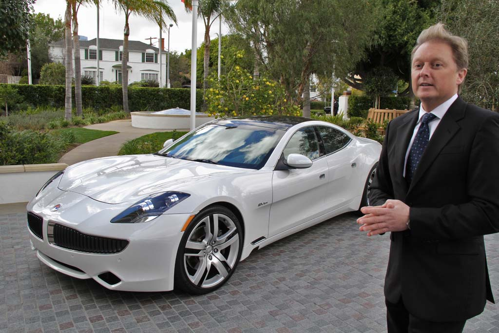 Troubled Fisker Automotive Seeking Partner