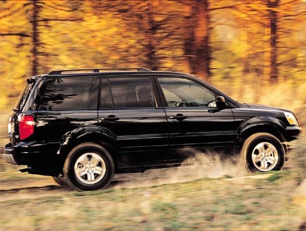 Honda Recalls 550,000 CUVs