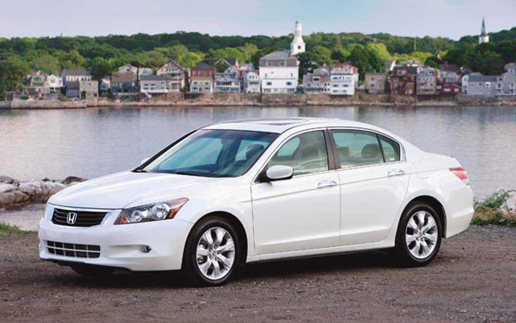 The 2008 Honda Accord Is One Of Vehicles Affected By A Recall Due To Faulty
