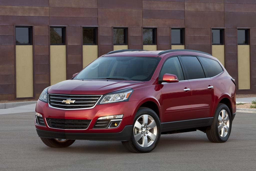 First Look: 2013 Chevrolet Traverse