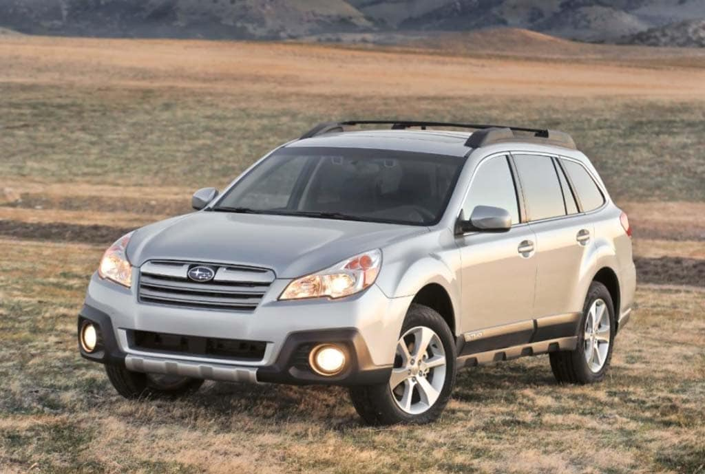 The 2013 Subaru Outback will formally debut at the NY Auto Show next