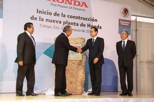 Honda Latest to Add Plant in Mexico