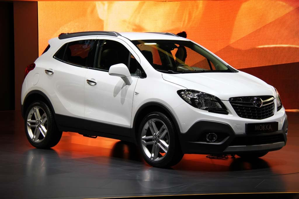 2014 opel mokka 2013 autos post. Black Bedroom Furniture Sets. Home Design Ideas