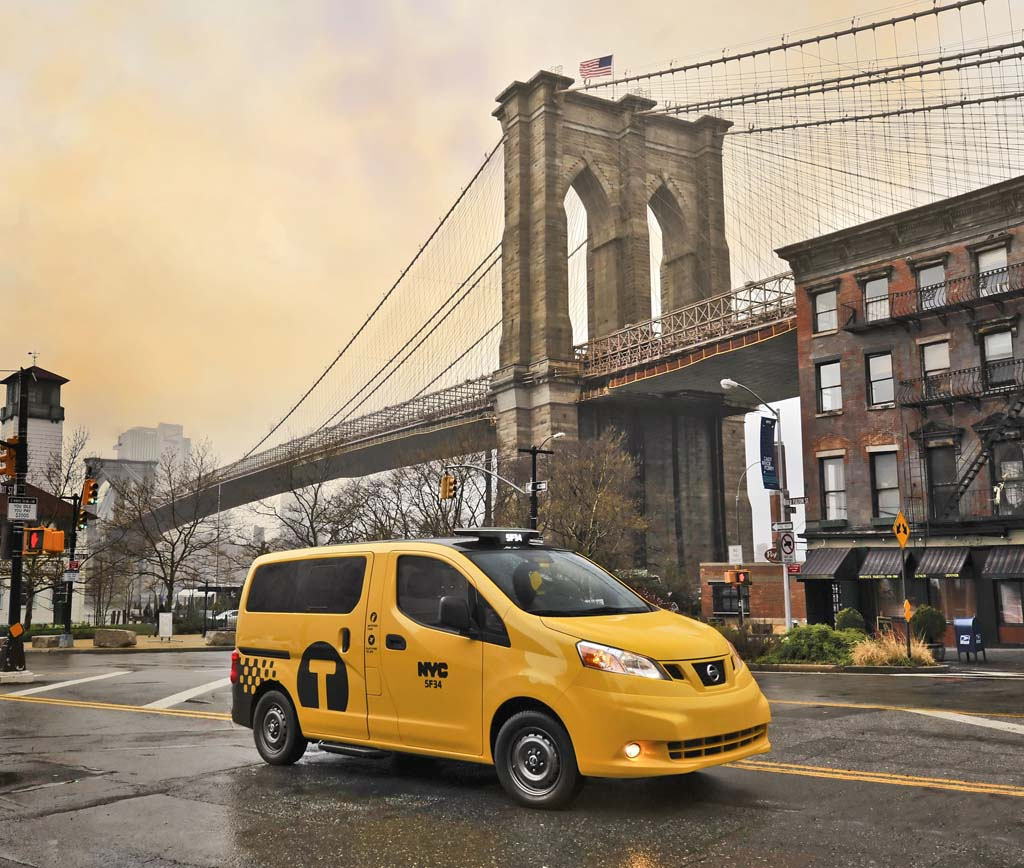 Courts Sideline NYC's Taxi Of Tomorrow