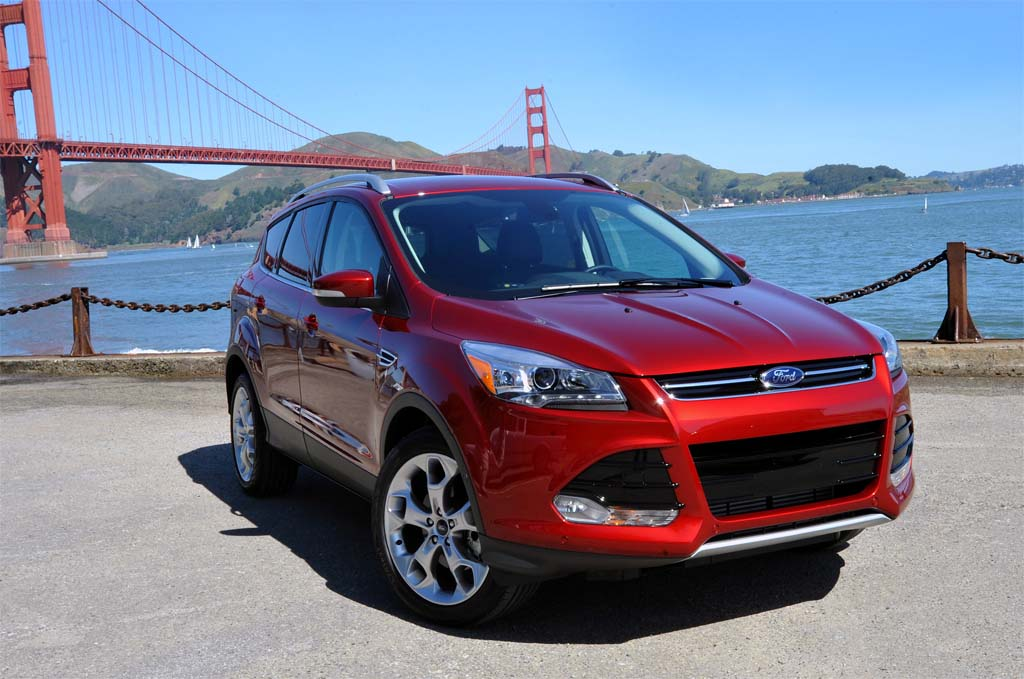 First Drive  2013 Ford Escape