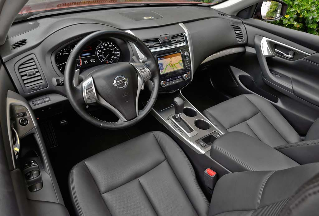 Nissan Altima 2013 Interior Base Model First Drive: 2013 Niss...